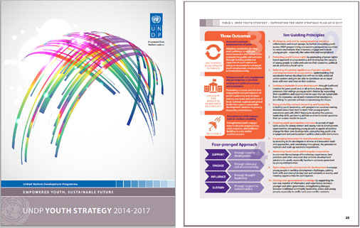 youth strategy cover and page